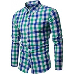 Checkered Pattern Casual Shirt found on MODAPINS from Rosewholesale.com for USD $9.82