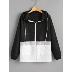 Two Tone Water Repellent Jacket