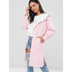 Double Faced Reversible Shelter Parka Coat found on MODAPINS from Zaful for USD $31.90