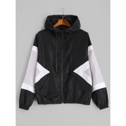 Zip Up Water Repellent Jacket