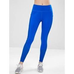 ZAFUL Workout Perforated Pocket Gym Leggings
