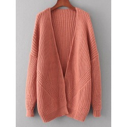 Open Front Chunky Cardigan