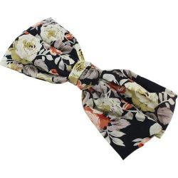 Floral Bowknot Hair Clip