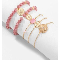5Pcs Star Beaded Bracelet Set found on Bargain Bro India from Zaful for $5.31