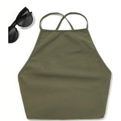 Open Back Tank Top