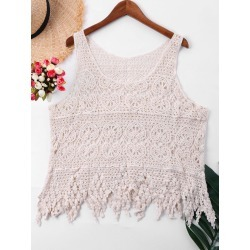 Sleeveless Cover Up Top