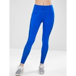 ZAFUL Workout Perforated Pocket Gym Leggings