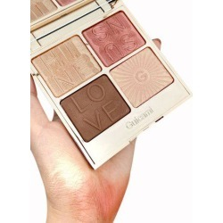 4 Colors Multi-purpose Highlighter Contour Powder Palette found on MODAPINS from Zaful for USD $17.49