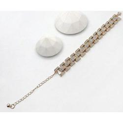 Hip Hop Rhinestone Tank Chain Bracelet found on Bargain Bro India from Zaful for $4.08