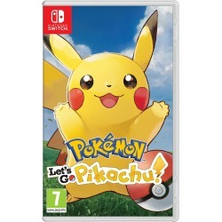 Pokemon Lets Go Pikachu (Nintendo Switch)