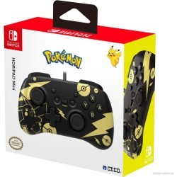 Nintendo Switch Horipad Mini - Pokemon: Black & Gold Pikachu (Nintendo Switch)