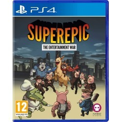 SuperEpic: The Entertainment War (PS4) found on Bargain Bro UK from Go2Games.com