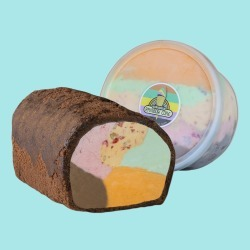 The Original Rainbow Cone - Original Rainbow Cone Roll Cake + Ice Cream Quart found on Bargain Bro from Goldbelly for USD $67.64