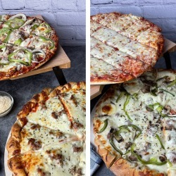 Bill's Pizza & Pub - Thin Crust + Double Decker Pizza Combo - Choose Your Own 4 Pack