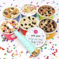 Cookie DO - Bridesmaid Proposal Cookie Dough 6 Pack