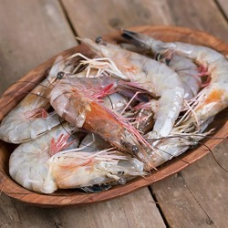 Louisiana Crawfish - Head On White Gulf Shrimp 5lbs found on Bargain Bro India from Goldbelly for $69.00