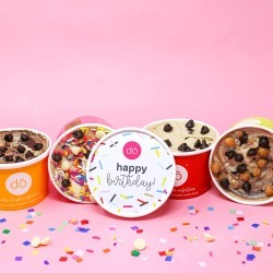 Cookie DO - Birthday Gift Cookie Dough 4 Pack