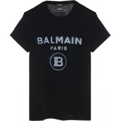 T Shirt With Faded Logo