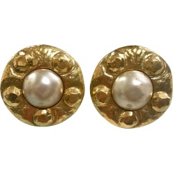 Round Faux Pearl Earrings found on Bargain Bro India from The List for $220.00