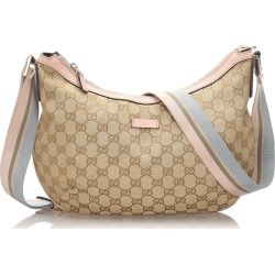 Gg Canvas Crossbody Bag found on MODAPINS from The List for USD $387.00