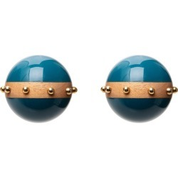 Resin Balls Earrings found on Bargain Bro India from The List for $230.00