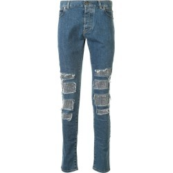 Studded Distressed Skinny Jeans found on Bargain Bro India from The List for $1397.00