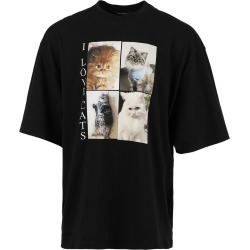 I Love Cats T-Shirt, Black found on Bargain Bro India from The List for $550.00