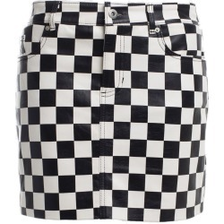 Chess Women Black And White Skirt