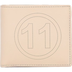 Maison Margiela Beige Perforated Logo Leather Wallet found on Bargain Bro Philippines from The List for $495.00