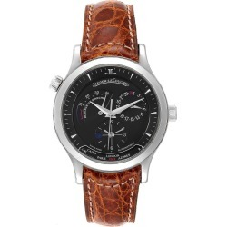 Jaeger Lecoultre Master Geographic Steel Mens Watch 142.8.92.S Q1428470 found on MODAPINS from The List for USD $6510.00