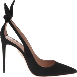 Deneuve Pump In Black Suede
