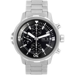 Aquatimer Day Date Automatic Chronograph Mens Watch Iw376804 Unworn