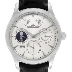 Jaeger Lecoultre Master 8 Days Perpetual Calendar Watch 174.8.26 Q174826s found on MODAPINS from The List for USD $18674.00