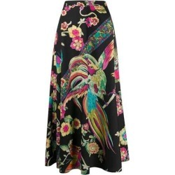 Long Black 'Bird Of Paradise' Skirt found on Bargain Bro India from The List for $559.00