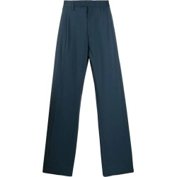 Blue Men's Blue Wool Pants