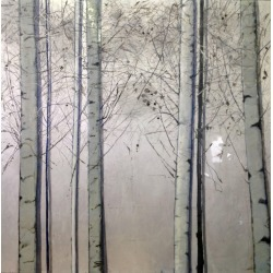Silver Birches, Original, Oil Paint On Canvas, Landscape, Exemplary Art Review found on Bargain Bro Philippines from The List for $24062.00