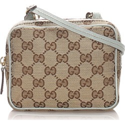Gg Canvas Crossbody Bag found on MODAPINS from The List for USD $400.00