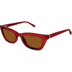 Red Women's Kate Young For Tura Katia Sunglasses