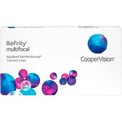 BIOFINITY MULTIFOCAL -2,75 2,50 8.6 06PACK INC found on Bargain Bro from GrandVision for USD $127.33