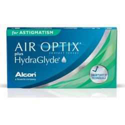 AIR OPTIX ASTIG HG -2,50 -1,25 180 8.7 06PACK INC found on Bargain Bro from GrandVision for USD $93.81