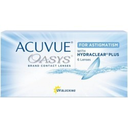 OASYS ASTIGM -2,75 -1,25 90 8.6 06PACK INC LC found on Bargain Bro from GrandVision for USD $93.81