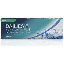 DAILIES TORIC -5,75 -1,25 070 8.7 30PACK INC found on Bargain Bro from GrandVision for USD $70.35