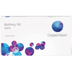 BIOFINITY TORICA XR -10,00 -5,75 165 8.7 06PACK IN 01 found on Bargain Bro from GrandVision for USD $215.62