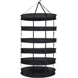 Grower's Edge Drying Rack with Clips 3ft