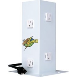 HydroFarm Tower of Power - Vertical PowerBar or PowerStrip *DISCONTINUED*