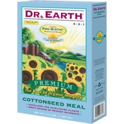 Dr. Earth Cottonseed Meal 25 lbs