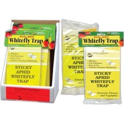 Sticky Whitefly Traps -- 3 Pack