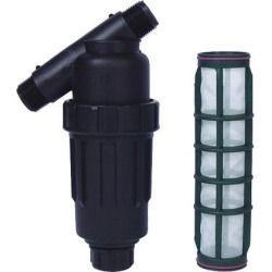 Raindrip Y Filter with 3/4 inch Outlet and 100 Micron Screen