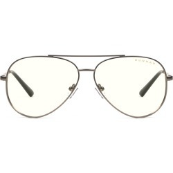 Maverick Prescription (Frame Color: Gunmetal, Prescription Lens: Single Vision, Lens Tint: Clear)