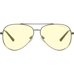 Maverick Prescription (Frame Color: Gunmetal, Prescription Lens: Single Vision, Lens Tint: Amber)